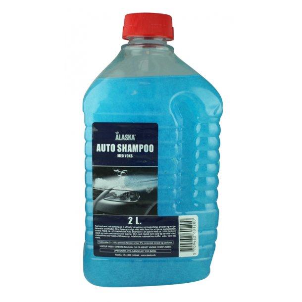 Alaska autoshampoo med voks 2 ltr