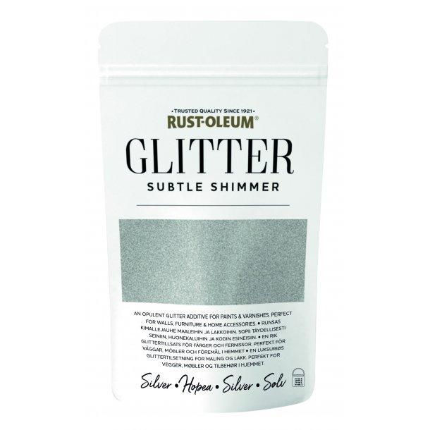 Glitter Flakes Silver 70 gr