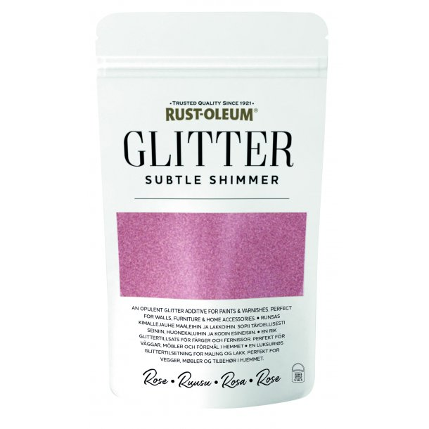Glitter Flakes Rose Gold 70 gr