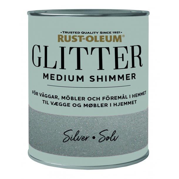 Glitter Medium Shimmer Silver