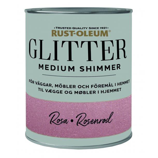 Glitter Medium Shimmer Rose Gold