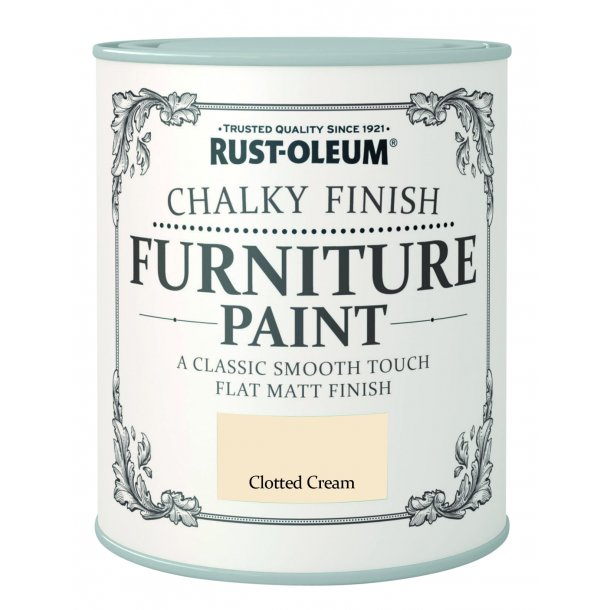 CHALKY FINISH CLOTTED CREAM 750 ML